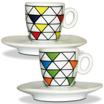 Tasse Espresso Collection ″Triangles″